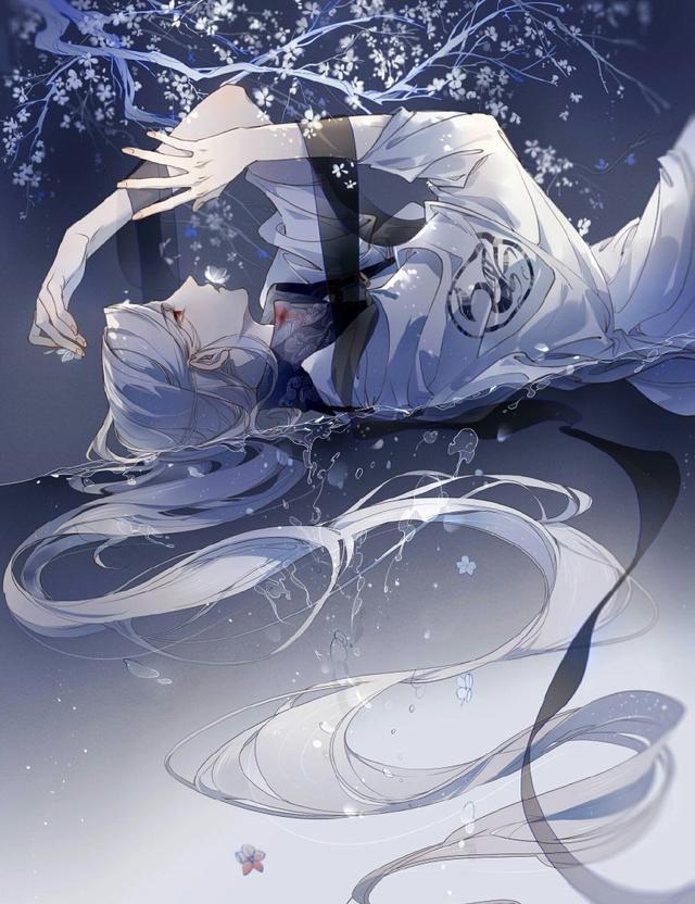 十二星座相对应的手绘白衣女子,各个仙气十足,金牛座是第一美人