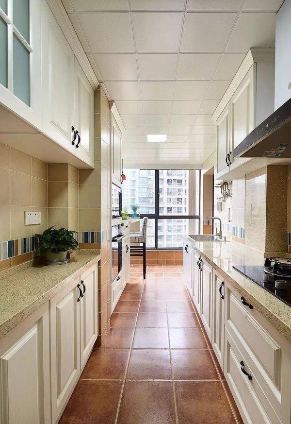 厨房小阳台怎么设计,看看这些美美哒的效果图学习一下图片