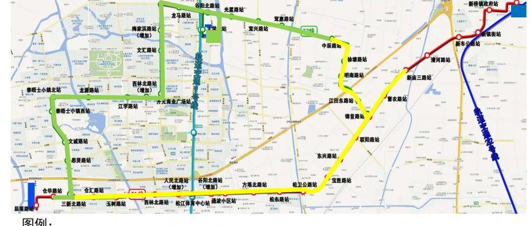 松江有轨电车2号线二期即将调试 将于下半年开通