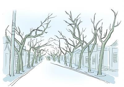 古老的北京德内大街,街龄已有600多年