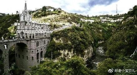 哥伦比亚拉斯拉哈斯教堂,世界上唯一的山谷教堂