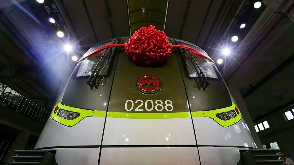 上海地铁迎第5000辆列车 9条线路下半年有望增能