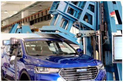 新博娱乐经受住了超过9吨车重的压力 哈弗H4安全性能惊人