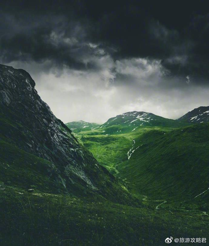 如同仙境般的挪威森林