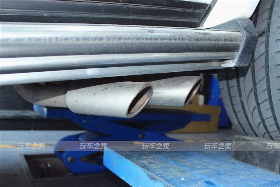 奔驰G级改装双边六出阀门排气 动静皆宜