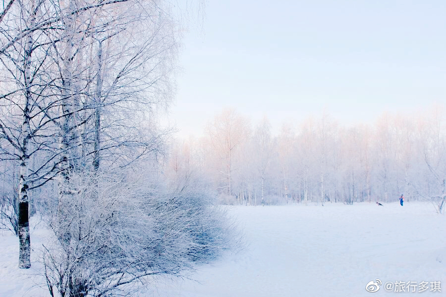 冬天的俄罗斯才是真正的俄罗斯
