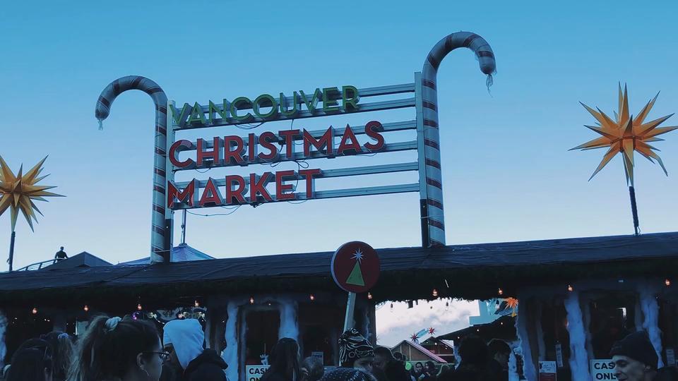 🎄温哥华圣诞集市开门迎客🎄进入12月就进入圣诞月啦
