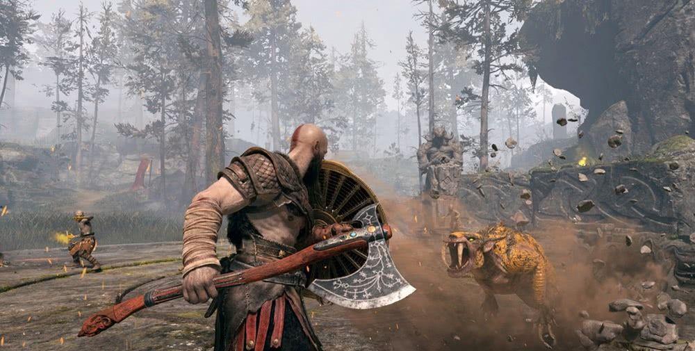 战神获得TGA年度最佳游戏!奎爷父子众望所归