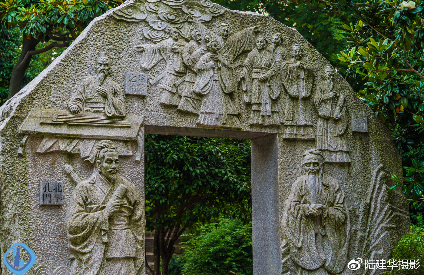 常熟言子墓道 千年虞山下埋葬着孔子唯一的南方传人