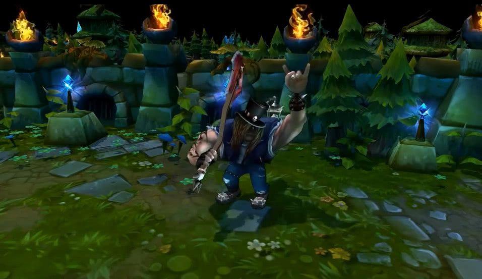 LOL:还记得这4个旧版英雄的玩家,如今段位至少钻石起步
