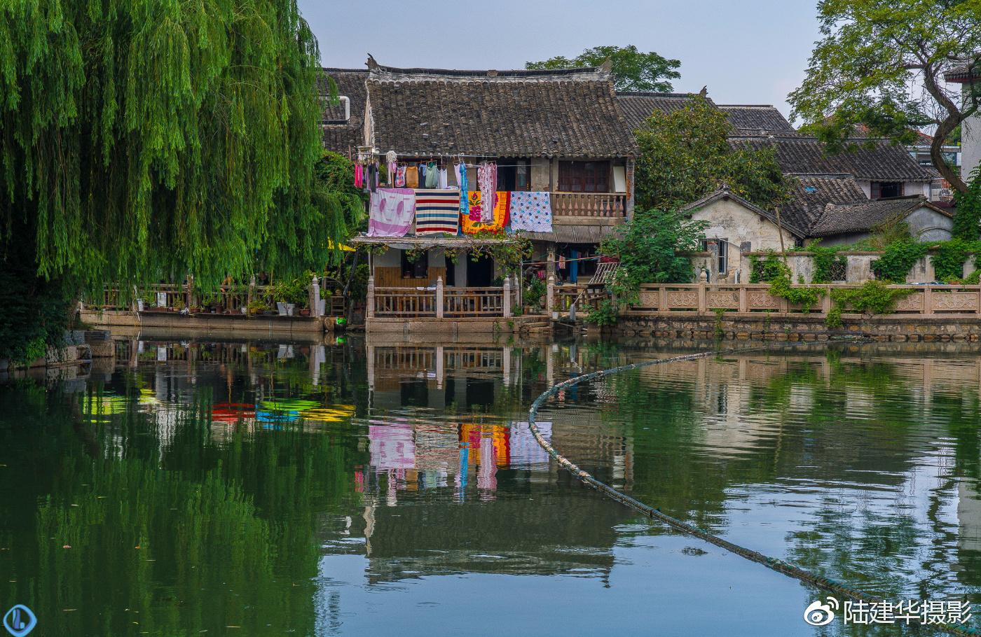 锦溪古镇,一处历史悠久的江南水乡