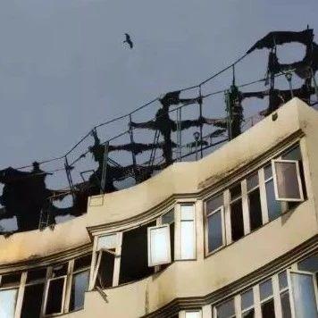 酒店凌晨大火17死!妇女儿童被逼跳楼丧命