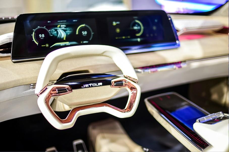 全新旗舰X95领衔 捷途四款SUV齐亮相上海车展