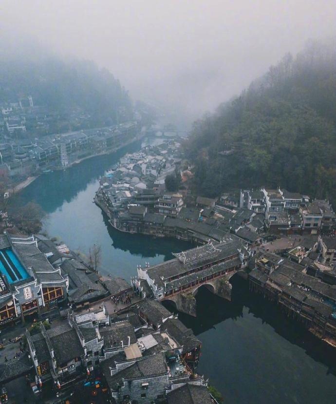 领略一下湘西凤凰古城的风光