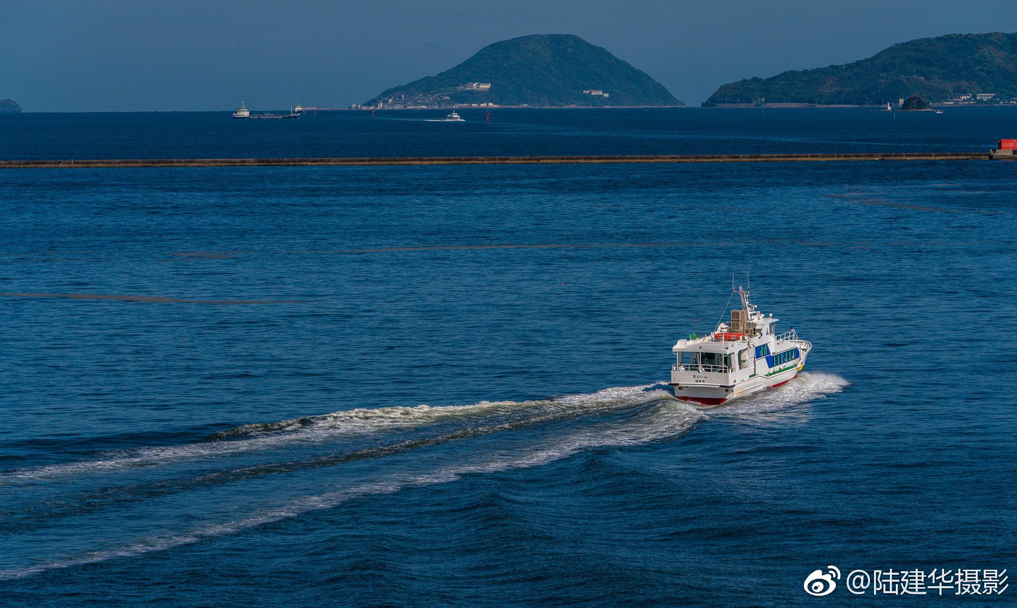 博多港的清晨