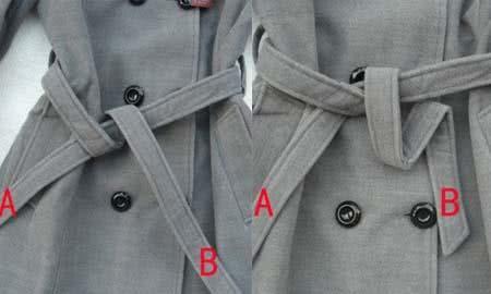 大衣蝴蝶结的系法图解 教你其中的小窍门|蝴蝶结|带子