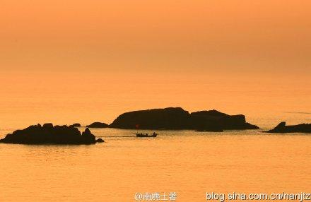 舟山群岛 曙光初照的东海那样美