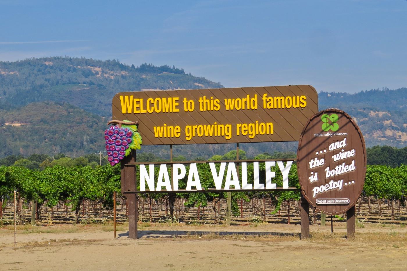 寻找秋日里最后一串葡萄--加州那帕山谷攻略