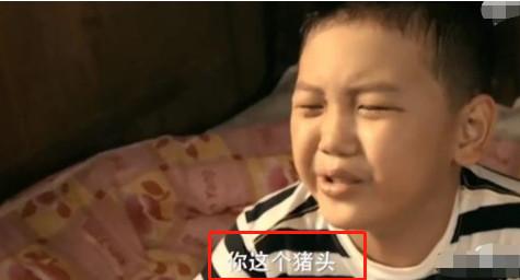 13岁儿子现场表白,王艳哭成泪人,当年骂母亲是猪的小孩长大了