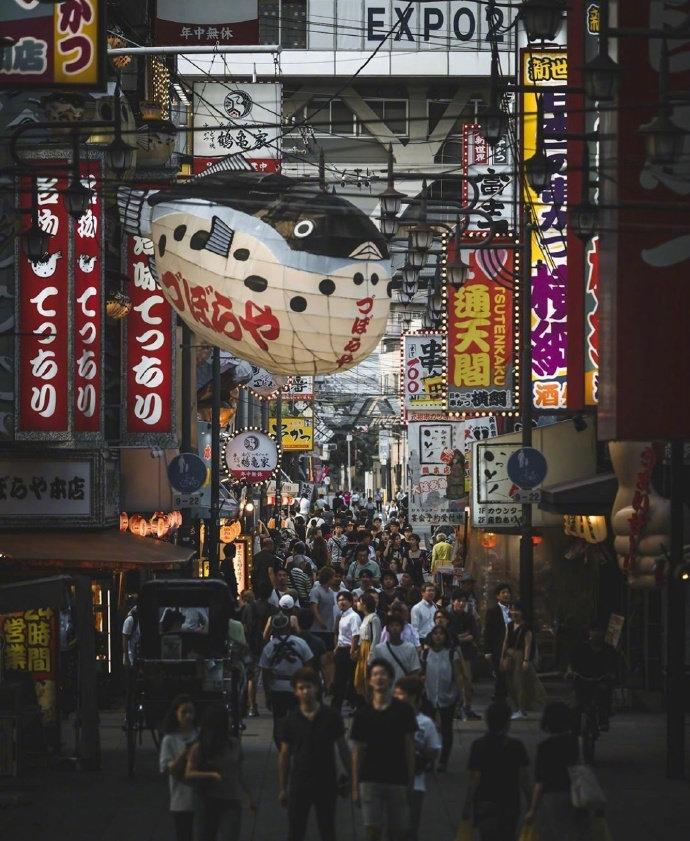 日本街头掠影