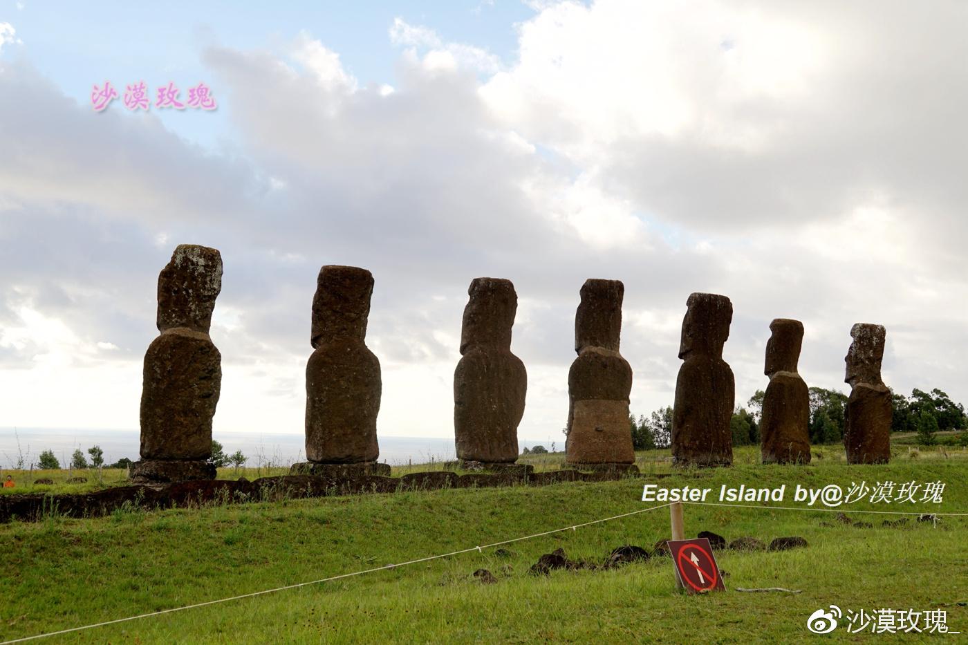 复活节岛上的石像都是面向陆地,为何这7座面朝大海
