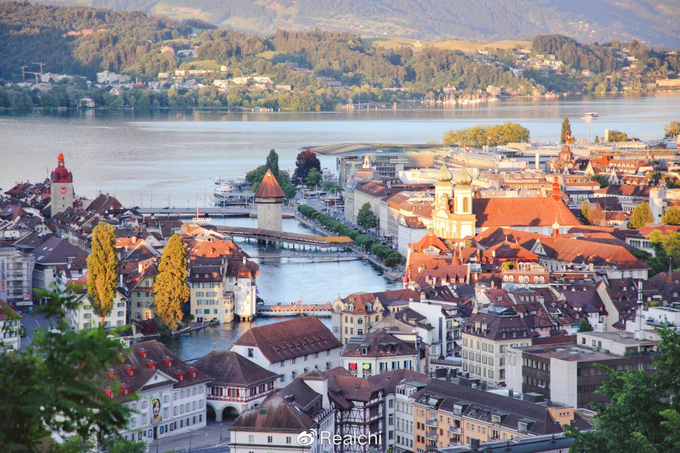 瑞士琉森:名字就像一幅流动的画卷