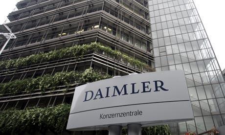 戴姆勒公布三季度财报 息税前利润下降27%
