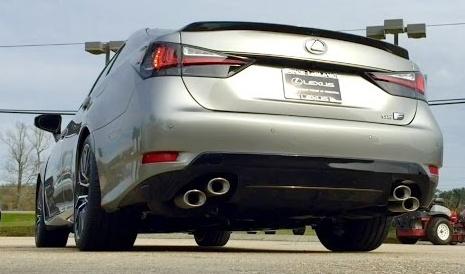 16款雷克萨斯GS F启动加速声