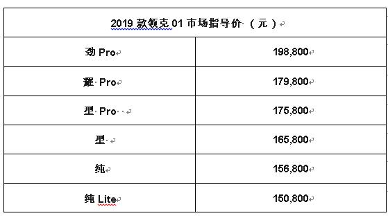 领克汽车携全系阵容出击2019上海国际车展