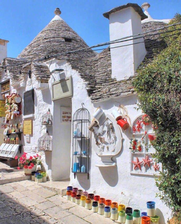 意大利天堂小镇阿贝罗贝洛,又叫蘑菇屋小镇