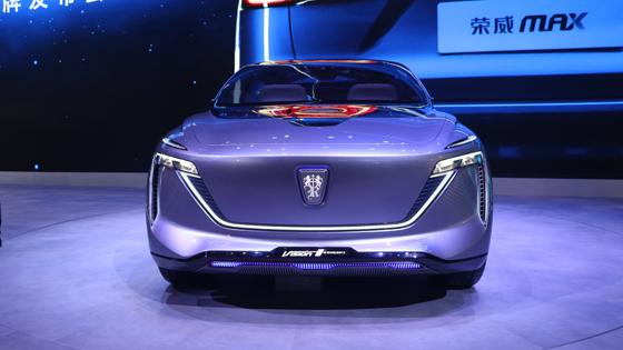 2019上海车展 上汽荣威Vision-i亮相车展现场