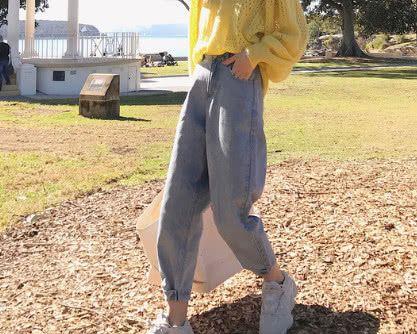 初恋裤、萝卜裤out了,老爹鞋+老爹裤才最潮,