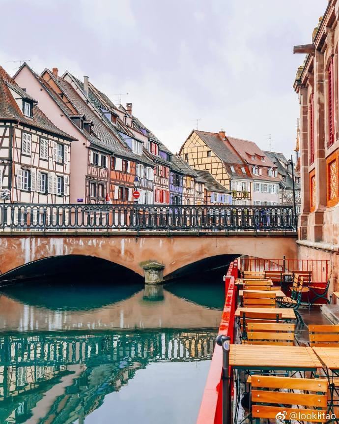 法国科尔马,童话般的城市