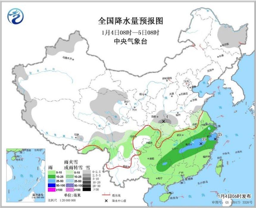 山东地�_今日南方降雨明显增强 陕西河南山东等地有降雪
