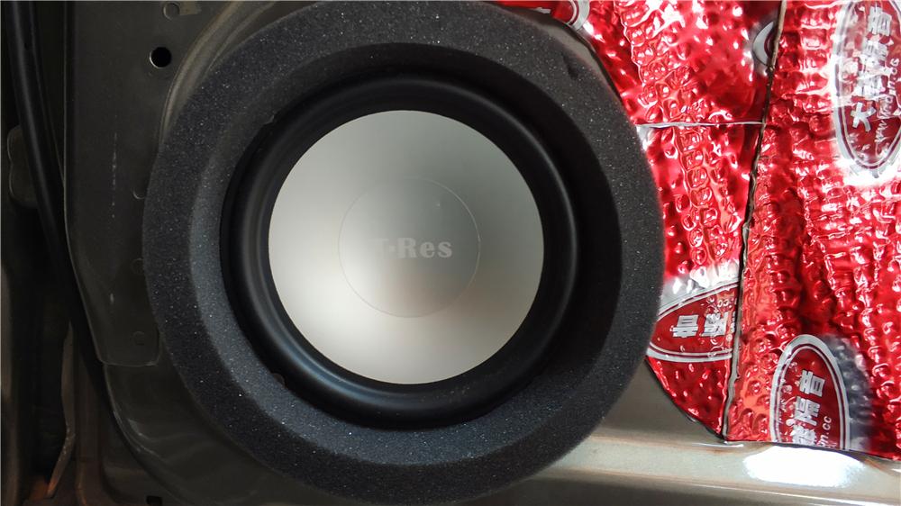 雪佛兰科帕奇怎么改装音响?意大利特雷仕S6.2C二分频改装方案