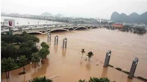 拉尼娜现象影响年!桂林五大河流干流或出现超警洪水
