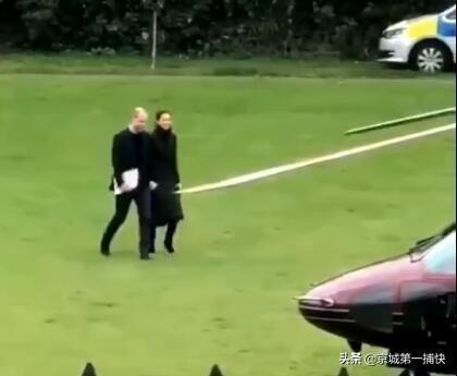 超甜!没有摄像机注视地方,威廉王子凯特王妃总是牵着手!