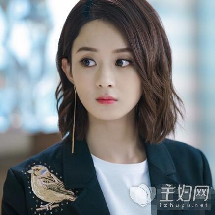 《你和我的倾城时光》赵丽颖同款发型 圆脸女生一定不