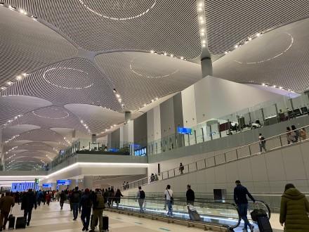 伊斯坦布尔机场(土耳奇游记之一)