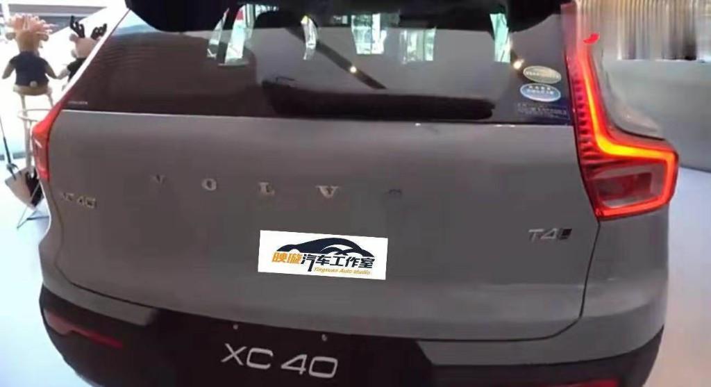 国产版沃尔沃XC40 T4到店实拍 水泥灰外观很美 5月正式上市