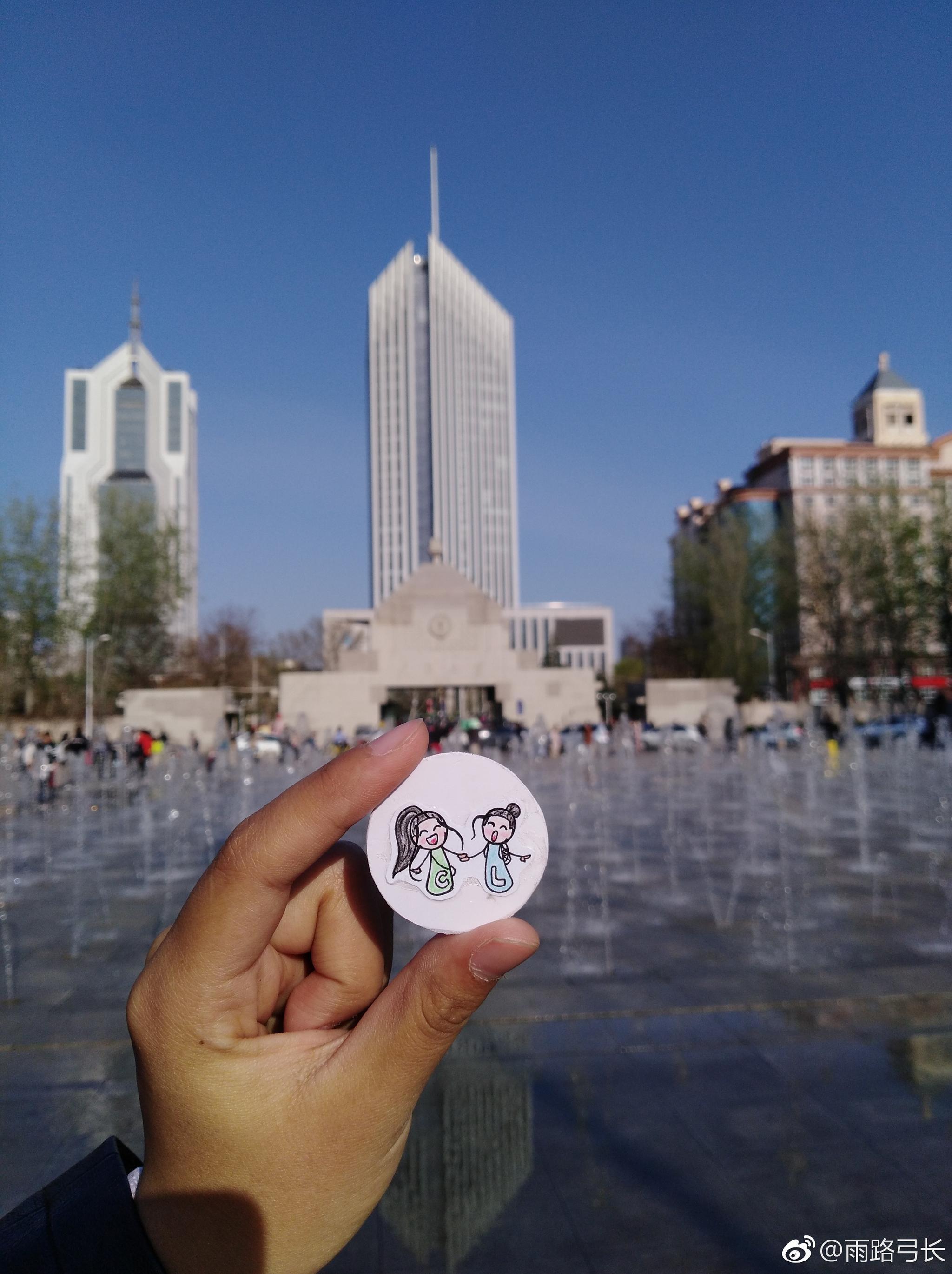 清明节期间去天津大学看了海棠