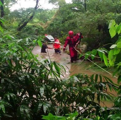 痛心!广西一家5个孩子被洪水冲走 4岁弟弟再也没回来