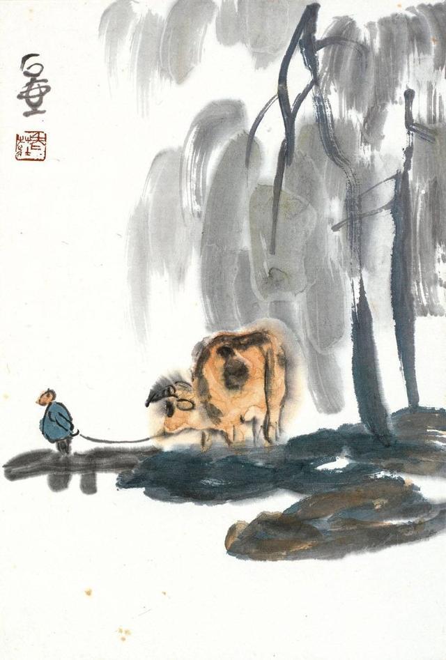 蜀中画家陈子庄:我死了,你们才知道我的画一画难求