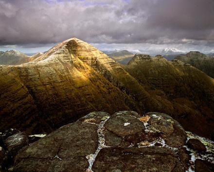 空旷而美丽的苏格兰风光