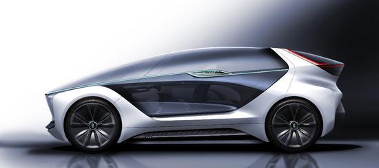 揭秘未来出行 一汽奔腾全新概念车曝光