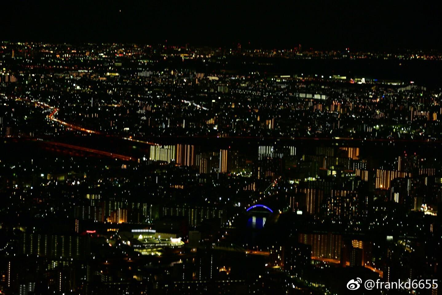 俯瞰东京之夜
