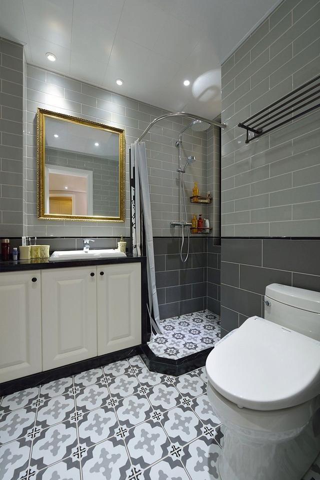 卫生间装修效果图2