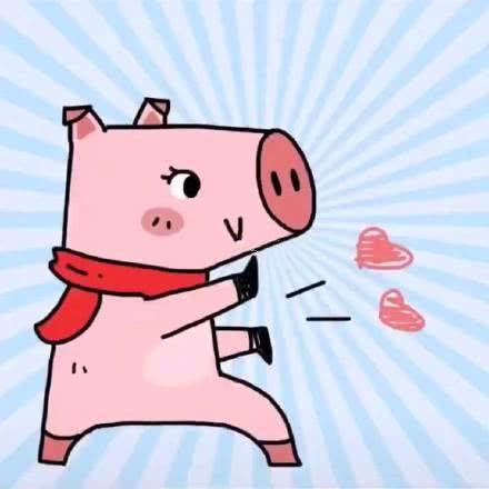 猪年行大运,情侣头像来一波,这一次萌化我的小可爱