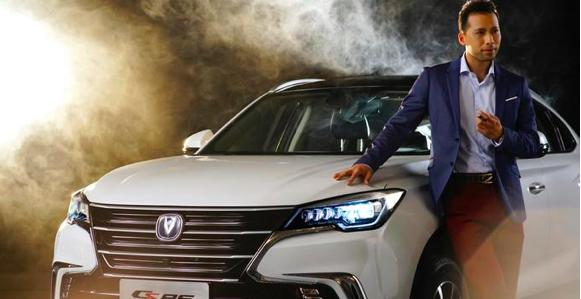 颜值担当 长安最美轿跑SUV CS85将于广州车展首发