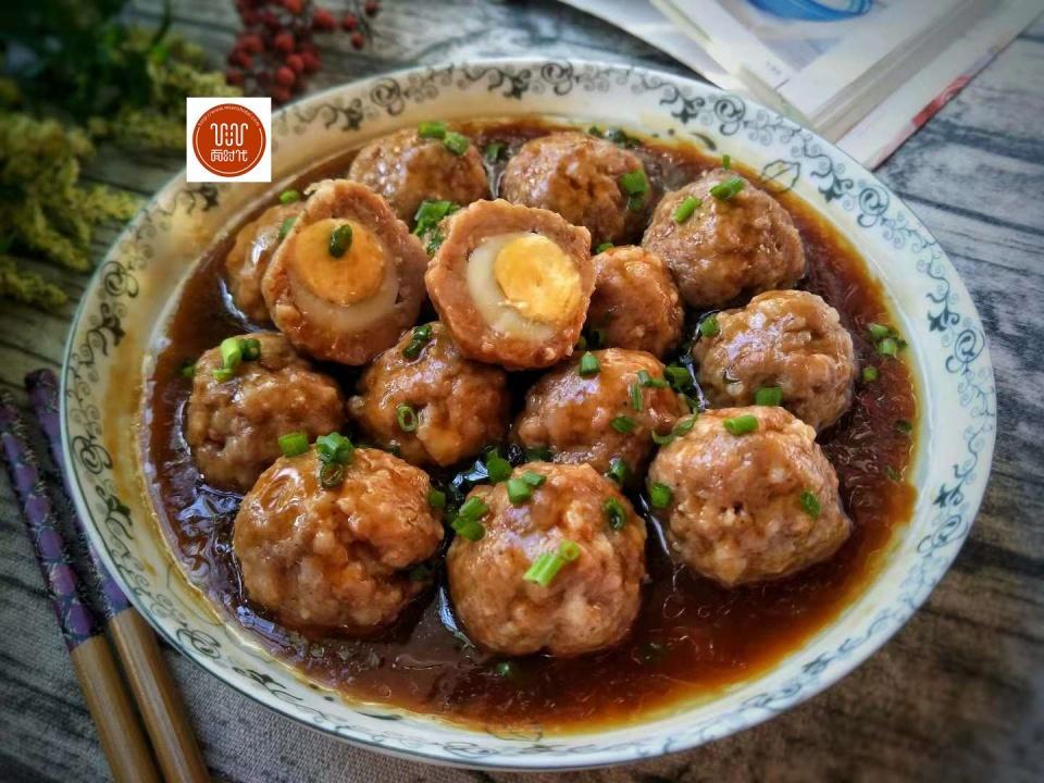 第肉丸:猪肉蛋鹌鹑如何卤一道才好吃图片